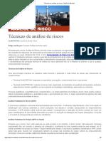 Técnicas de Análise de Riscos_Agência Elsevier.pdf