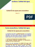 Calidad Del Agua (I.2). Acuacultura