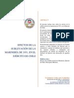 Efectos de la Sublevación de la Marinería de 1931 en el Ejército de Chile