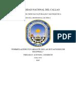 Tramsformación a La Formulación Covariante Del Electromagnetismo