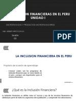 Semana 03 y 04_la Inclusion Financiera en El Peru