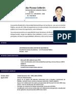 Curriculum Vitae_ Clara Piscoya