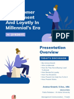 To Customer Engagement And Loyatly In Millenial's Era (2).pptx