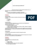 Guia de Estudio - Responsabilidad Civil