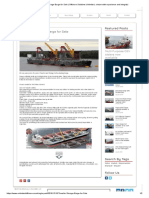Transfer & Storage Barge for Sale _ Offshore Solutions Unlimited, A Team With Experience and Integrity!