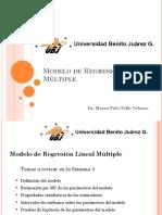 Modelo de Regresión Lineal Múltiple