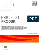 Pricelist Hashka