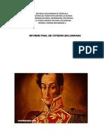INFORME FINAL DE CATEDRA BOLIVARIANA II.doc