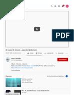 (22) Mi Jesús Mi Amado - Jesús Adrián Romero - YouTube