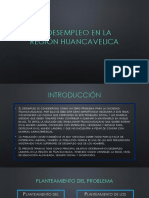 El desempleo en la región Huancavelica.pptx