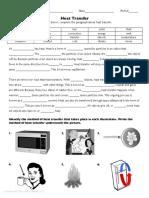HeatTransferPracticeWorksheet