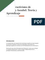 El constructivismo de Bruner y Ausubel.docx