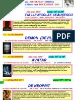 Program Decembrie 2010 Mediensis