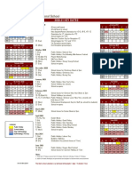CIS School Calendar 2020-2021
