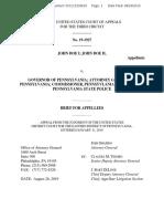 John Doe 1 v Wolf Brief for Appellees