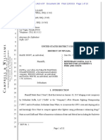 Zuffa's Motion for Attorney Fees and Costs