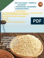 Aislado de la proteina de la quinoa final.pptx