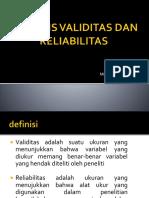9.ANALISIS VALIDITAS DAN RELIABILITAS(1).pptx