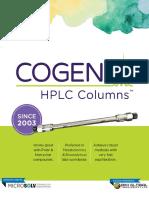 Cogent hplc columns