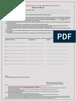 Author declaration certificate