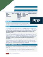examiner profile