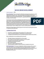 LINUX DEVICE DRIVER DEVELOPMENT