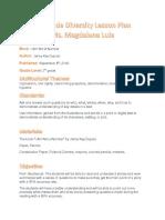 3rdgrade diversity lesson plan magda