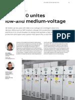 ++++IEC61850 Unites LV and MV