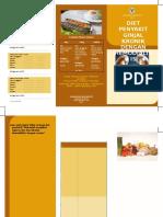 Leaflet Ujian Diet
