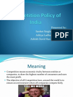 Competition Policy of India.pptx