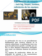 equipos de perforacion de mineria subterranea.jackleg, jumbos alimak (1).pptx