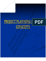 Project Planning and Its Concept