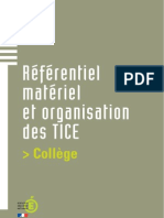 Referentiel Materiel Et ion College