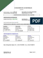 A-04 Insulfrax - Cemento Refractario Ecologico (Unifrax)