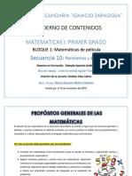 Cuaderno de Contenidos Matematicas