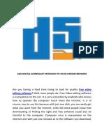 Digital Screencast – Free Video Editor