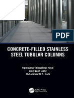 Concrete-Filled Stainless Steel Tubular Columns (2019)