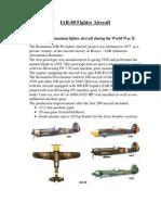 IAR-80 Fighter Aircraft