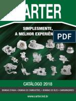 Carter Catalogo Bombas Combustível Bomba Dagua e Bombas de Óleo 2018