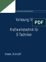 Vorlesung3 Kraftwerkstechnik TU Dresden