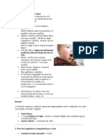 recetas Bebés de 7 a 8 meses de edad
