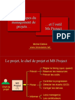 Intro-MS Project Et Le Management de Projet