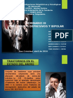 Transtorno Depresivo y Bipolar