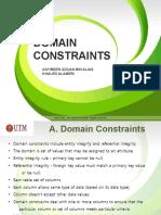 Domain Constraints