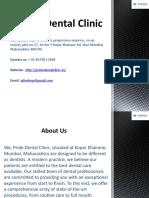 Dental Clinic in Koparkhairane