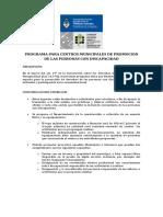 22 Programa para Centros Municipales de Promocin de las personas con discapacidad.pdf