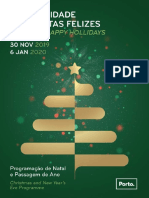 Agenda Da Animação de Natal 2019 - Porto