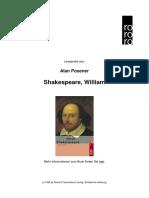 Posener Shakespeare William