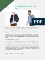 How to Make a Denim Jacket Your New Spring Uniform