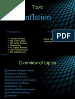 Infaltion(Main Slide)